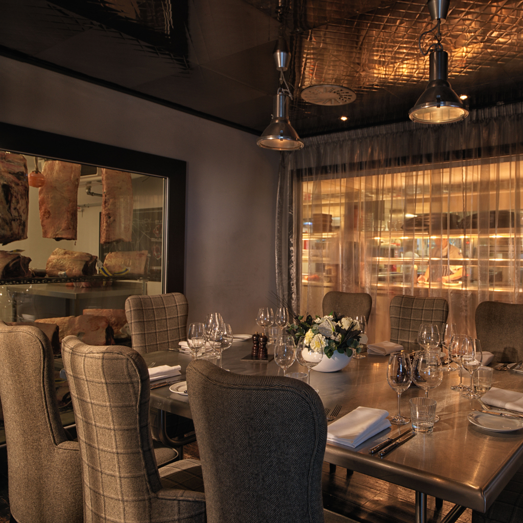 Private Dining Room Set: The Chef's Table