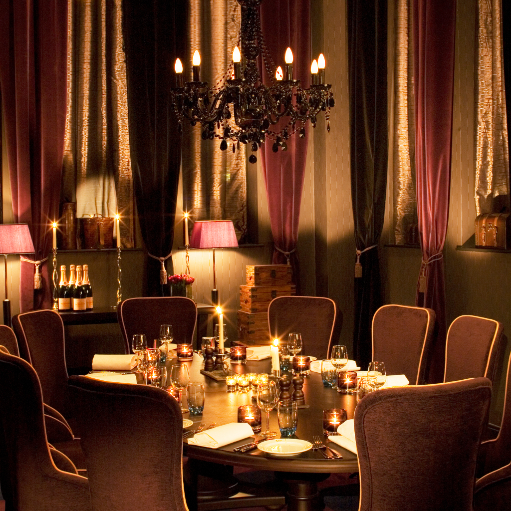 The boudoir private events malmaison liverpool for Best private dining rooms manchester