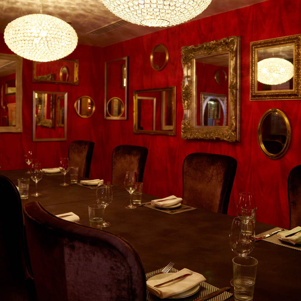 ... Malmaison London, So If Youu0027re Looking For Something Small, Sultry  Andprivate This Is The Room For You. You Can Have It Set For Dining Up To  14 People.