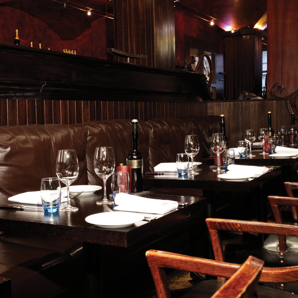 Malmaison hotels brasserie tables