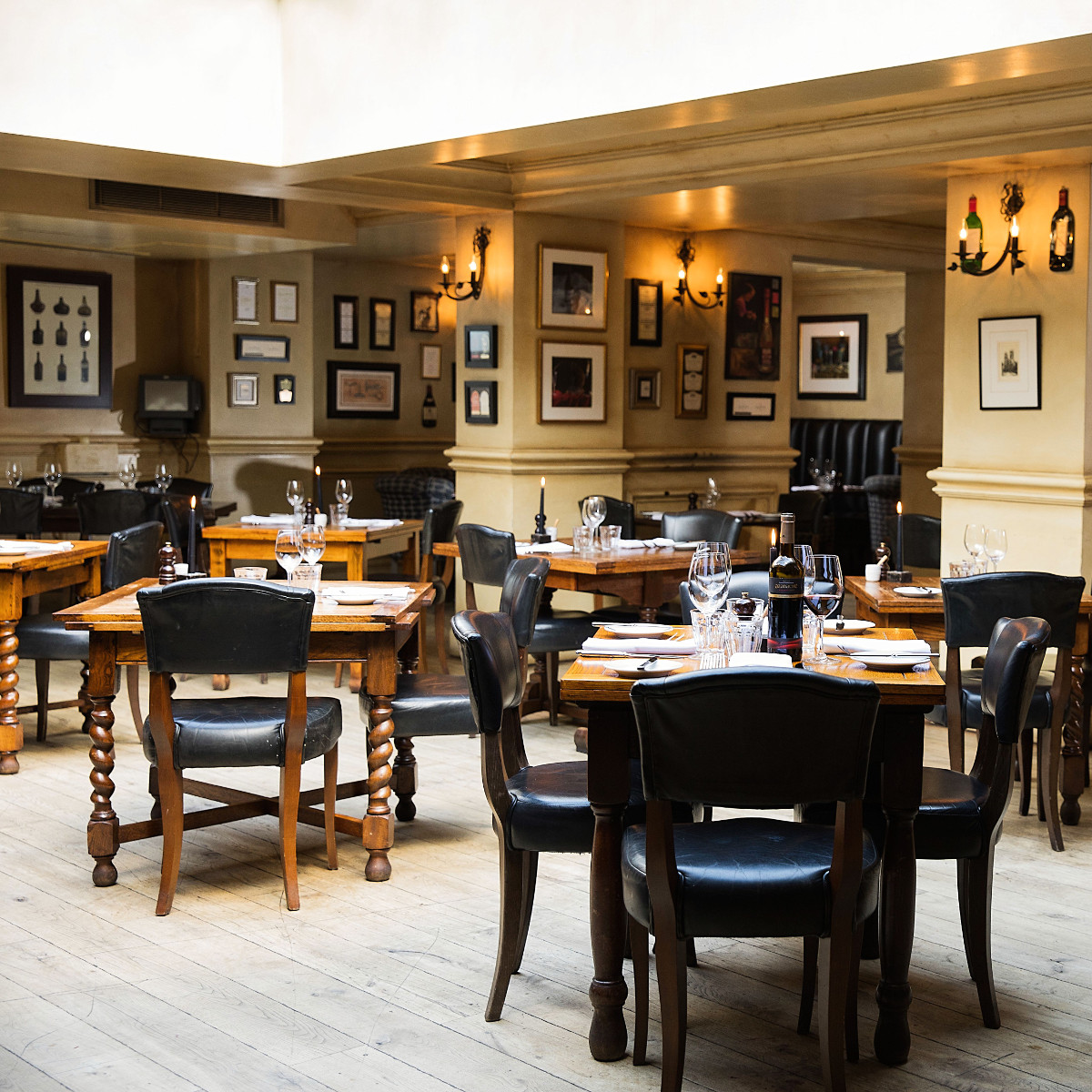 French inspired bistro restaurant in york hotel du vin york