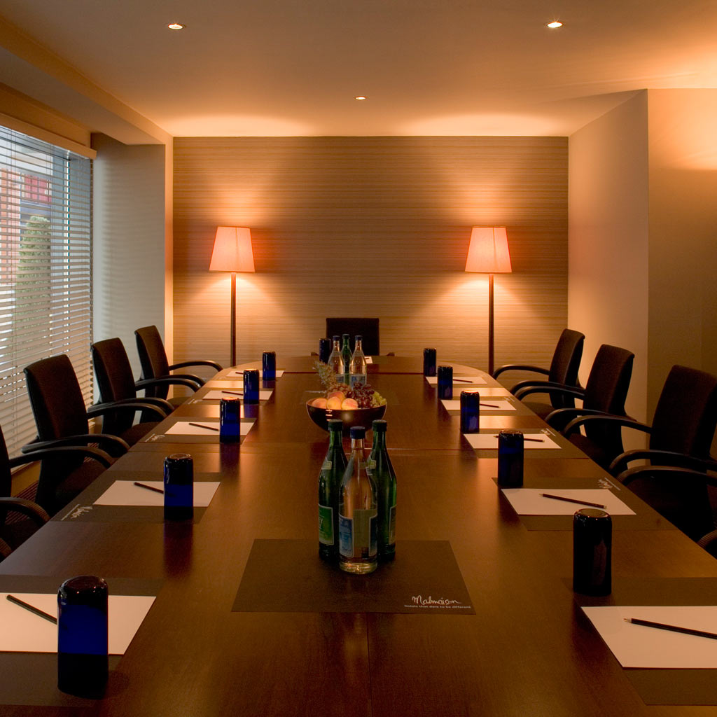 Birmingham Malmaison meeting room