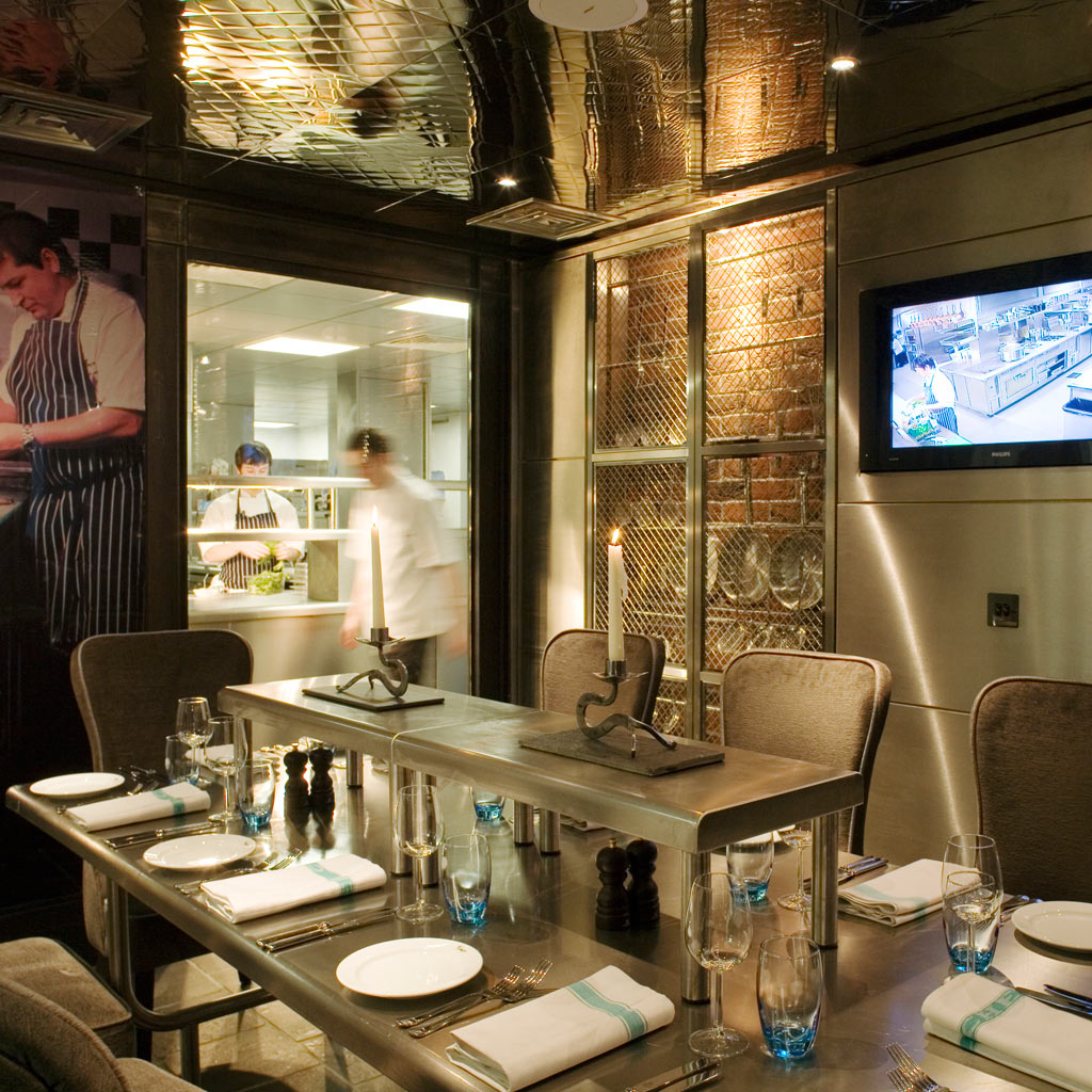 Liverpool Malmaison brasserie chefs table