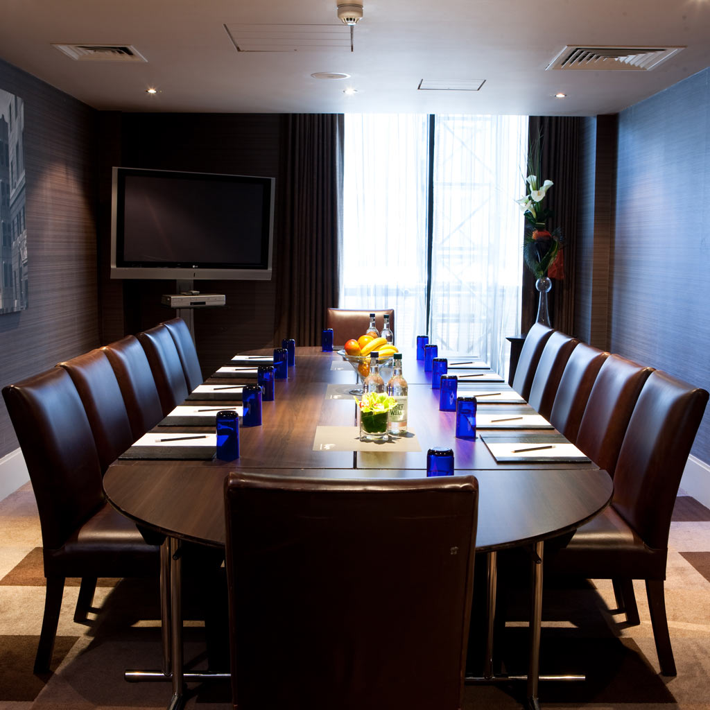 Liverpool Malmaison meeting room
