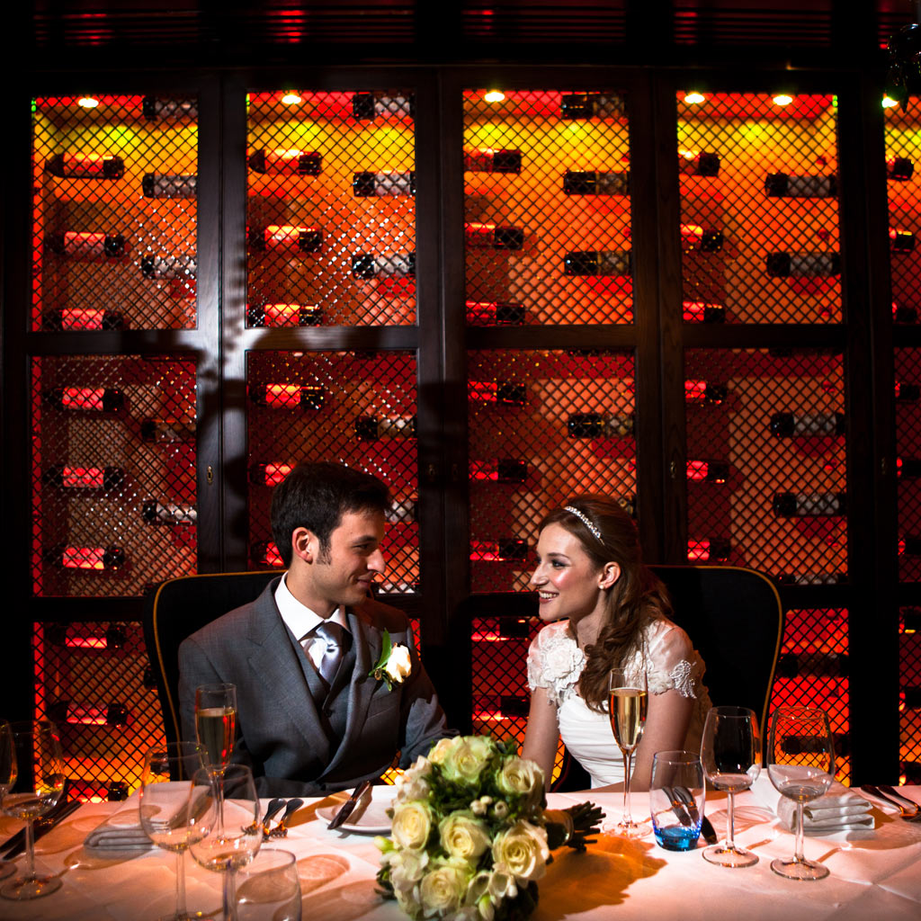 London Malmaison wedding