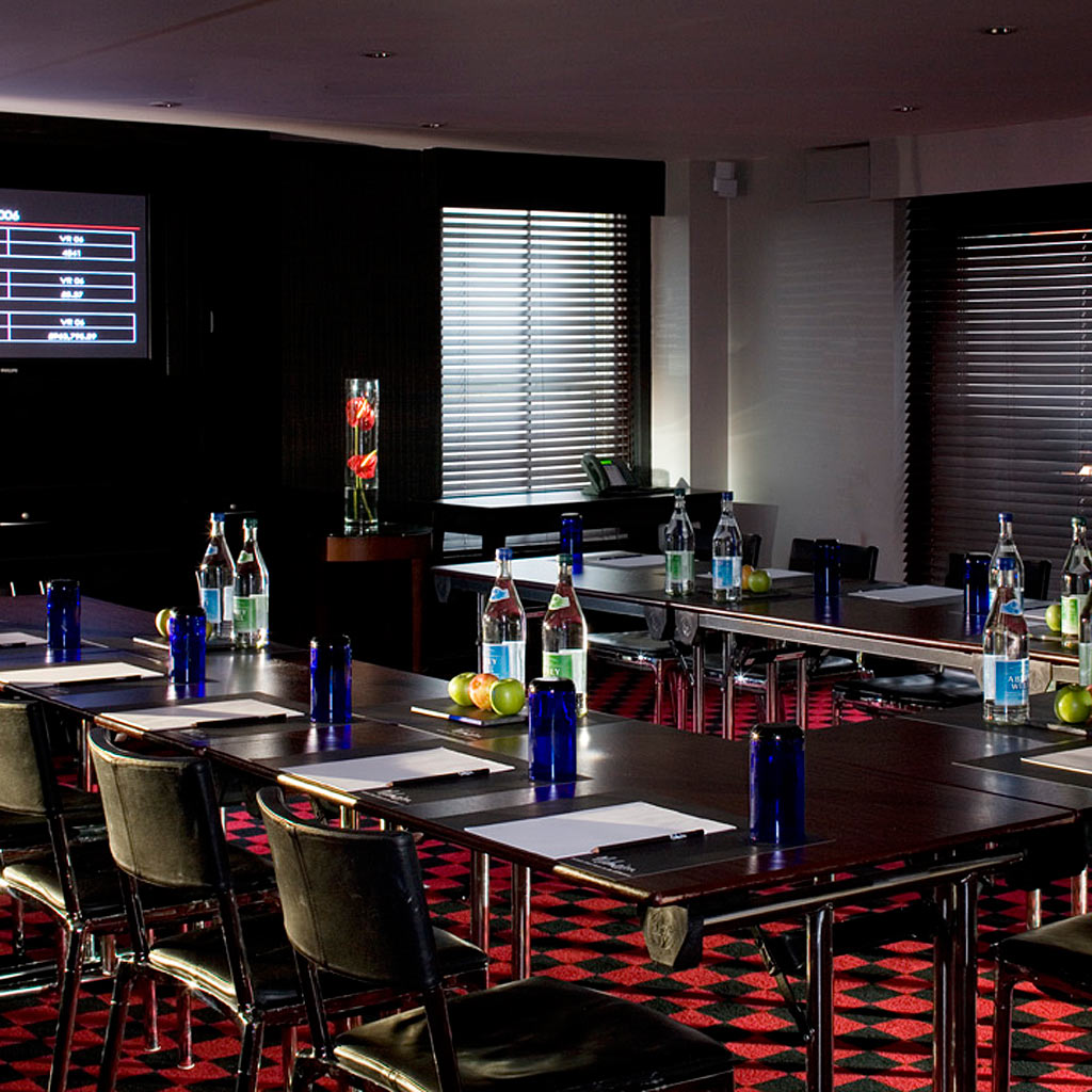 Manchester Malmaison meeting room