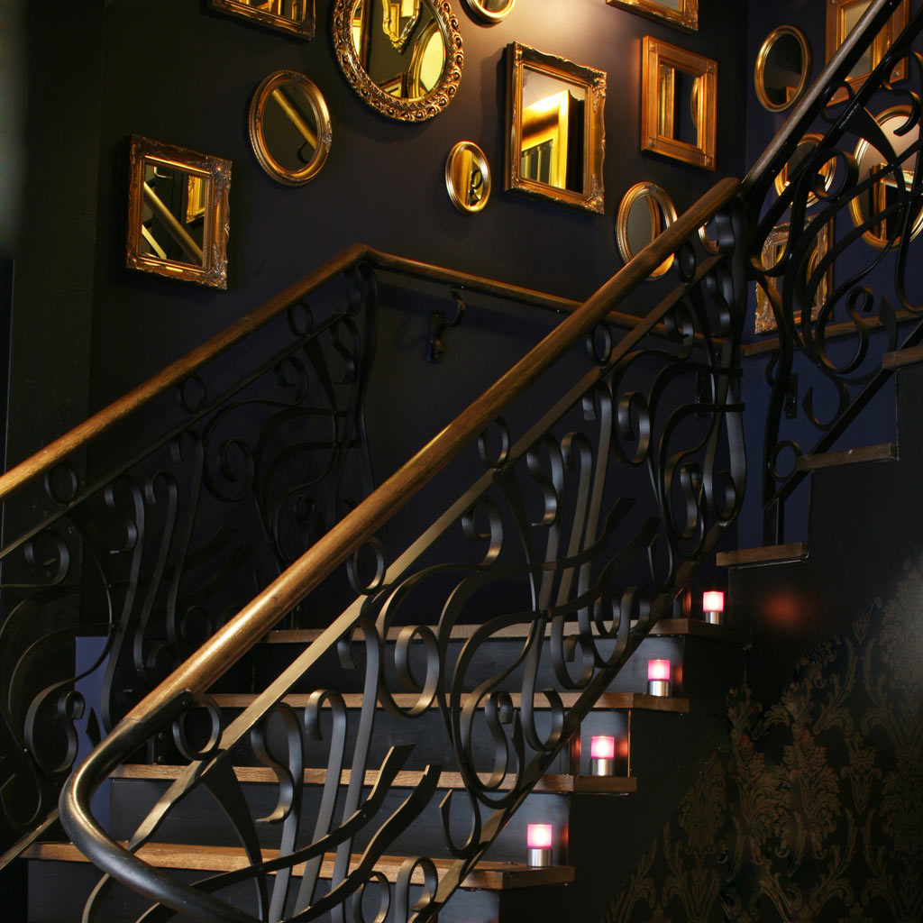 Reading Malmaison staircase